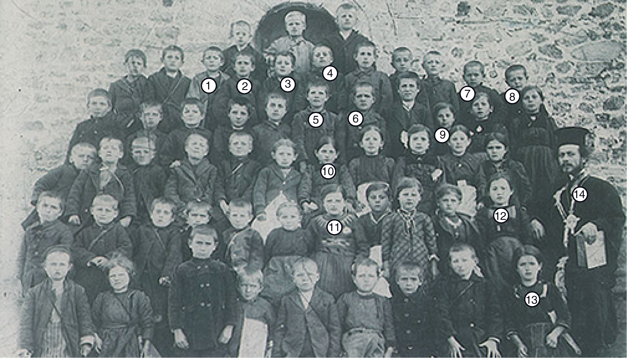 Class Picture of 1924 (Left Click to View Original)