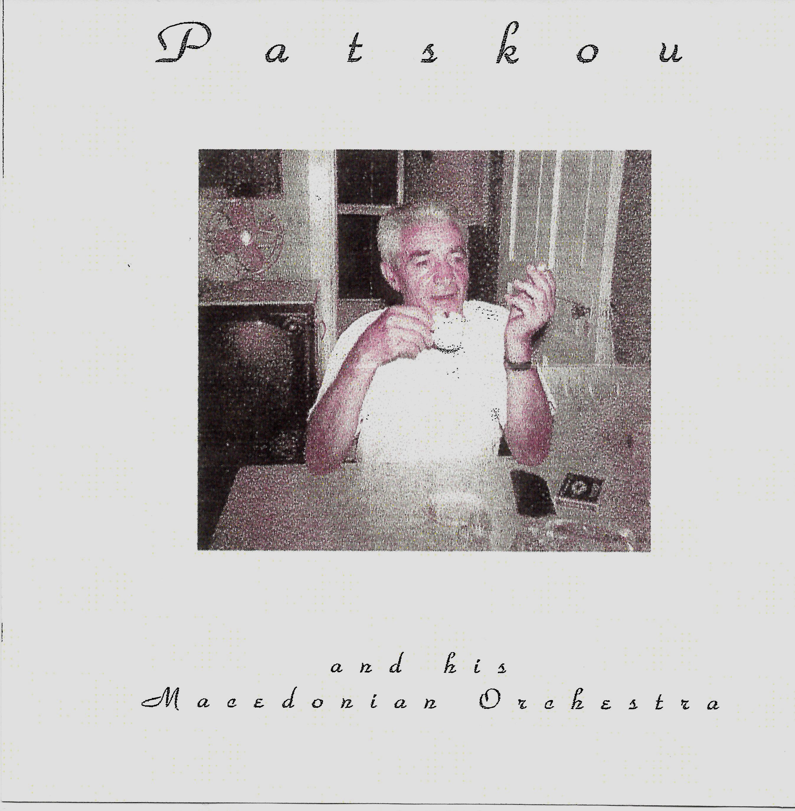 Patsko CD Cover