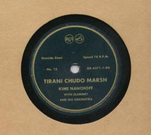 Kime Nanchoff RCA #15 Tirani Chudo Marsh