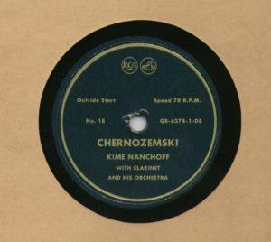 Kime Nanchoff RCA #18 Chernozemski