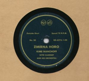 Kime Nanchoff RCA #20 Zmirna Horo