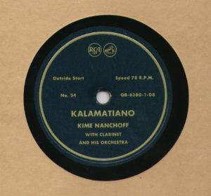 Kime Nanchoff RCA #24 Kalamatiano