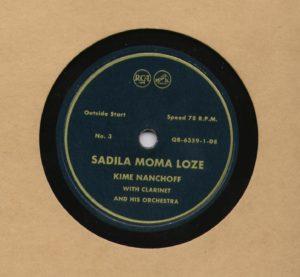 Kime Nanchoff RCA #3 Sadila Moma Loze