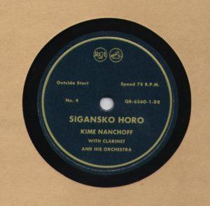 Kime Nanchoff RCA #4 Sigansko Horo